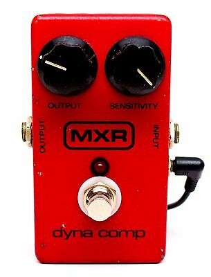used MXR Dyna Comp, with power supply adapter cable