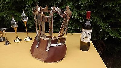 Rare 1890 Art Deco Anatomical Corset Polio Prosthetic Steampunk industrial