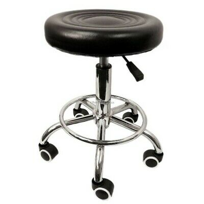 Arcade stool adjustable roller chair for cocktail or sit down style arcade games