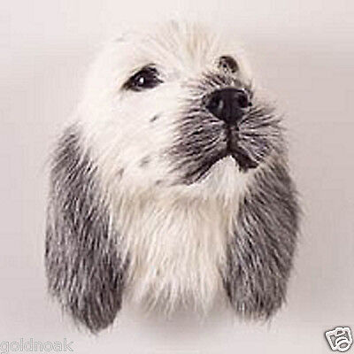 (1) GRAY ENGLISH SETTER- DOG MAGNET! Very realistic.(collectable)