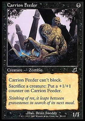 Mangiacarogne - Carrion Feeder MTG MAGIC SCG Scourge Eng/Ita