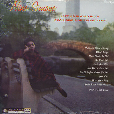 Nina Simone - Little Girl Blue - Jazz As Played (Vinyl LP - 1958 - US - Reissue)