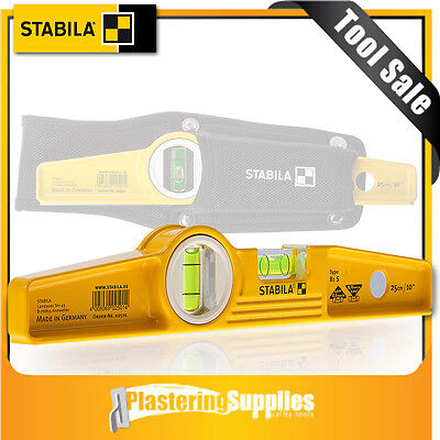 "Stabila Spirit Level 81S 25cm 10"" with Holster 02501"