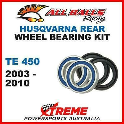 25-1420 Mx Rear Wheel Bearing & Seal Kit Husqvarna Te450 Te 450 2003-2010 Moto