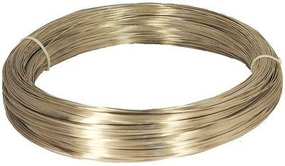 Titanium Round Wire Grade One 0.40 MM 50 Ft. Pure Titanium