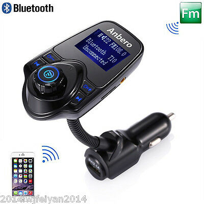 """1.44"""" LCD Wireless FM Transmitter &USB Charger & Handsfree Bluetooth &MP3 Player"""