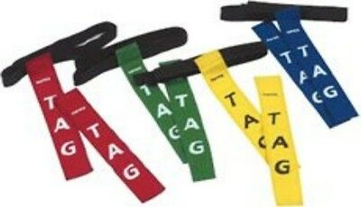 Rugby Tag Belt Red One Size Play Training Aid Equipment Train Game NEW
