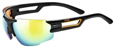 Uvex sportstyle 112 Sportbrille - black mat orange