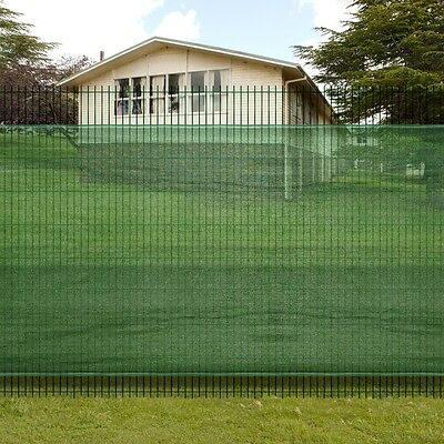 New 1x10m Mesh Garden Fence Windscreen Privacy Screen Net Wire Fencing Outdoor