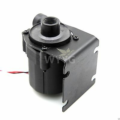 DC 12V Brushless Pump For PC Water Cooling G1/4 3 Pin Connector + Black Bracket