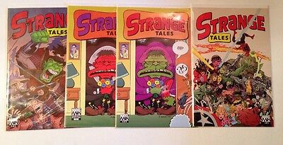 Strange Tales 1-3 Complete Near Mint Lot Set Run MK Variant 2