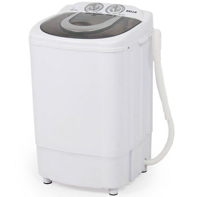 Mini Portable Washing Machine Spin Wash 8.8Lbs Capacity Compact Laundry Washer