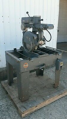 Delta Rockwell radial arm saw 40-C 3 hp 220/440 14 inch blade