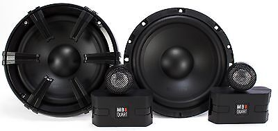 "2) MB Quart 6.5"" 90 Watt Component Speakers Speaker System Set Pair 
