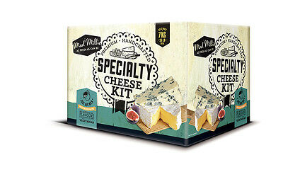 Specialty Cheeses Ingredient Kit for Camembert and Blue Style Cheeses