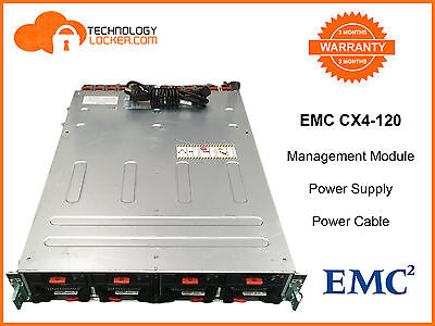 EMC CX4-120 6 x MGMT Module, 4 x Power Supply + Power Cable