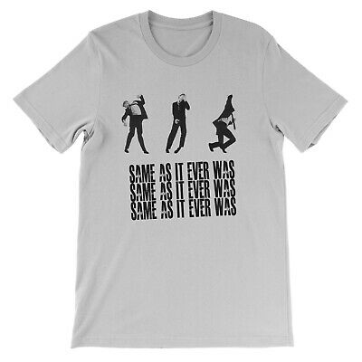 Talking Heads T Shirt - Once In A Lifetime - Same as it ever was new york 1980s