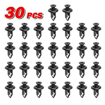 100pcs Rear Bumper Clips Retainer Fastener for 1997-2016 Nissan Altima Xterra