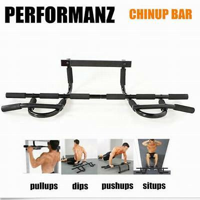 New Coming 105cm Gym Workout Exercise Doorway Pull up Chin up Iron Bar