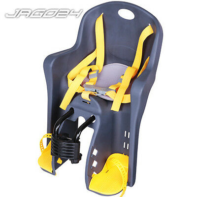 Child Safety Checked Bike Front Seat Secure Carrier Kid Baby Bicycle Rear Head