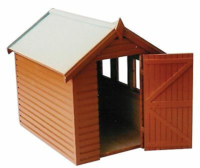 Dolls House Miniature 1/12th Scale Garden Shed