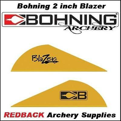 36 Bohning Blazer GOLD 2 inch for arrows archery hunting