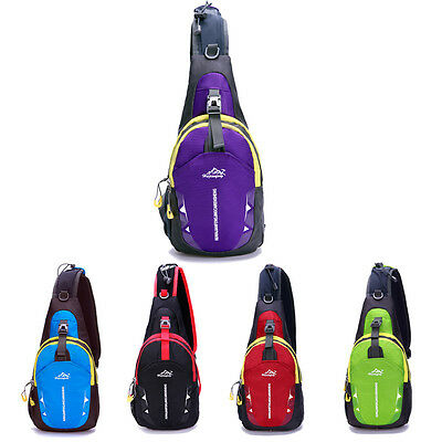 Portable Sports Chest Bags Crossbody Shoulder Waterproof Casual Diagonal Package