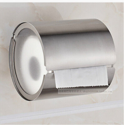 Bathroom Accessory Stainless Steel End Rolls Toilet Paper Holder Wall Mounted