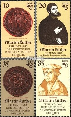 DDR 2754-2757 (édition complète) neuf 1982 martin luther