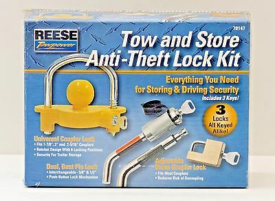 Anti Theft -Reese Towpower 70147 Tow N Store Lock Kit
