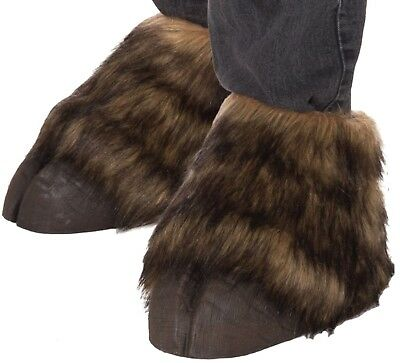 Animal Hooves Shoe Covers Costume Accessory Horse Bull Satyr Donkey Adult