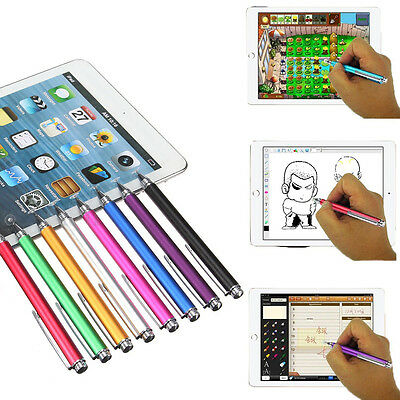Pro Fine Point Round Thin Tip Capacitive Stylus Pen For iPad Smart Phone Tablets