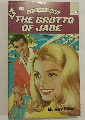 """The Grotto of Jade"" harlequin romance mint 1965 retro vintage"