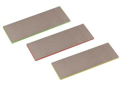 Neilsen Diamond Sharpening Stones Set Of 3 Coarse, Fine And Extra Fine Freepost!