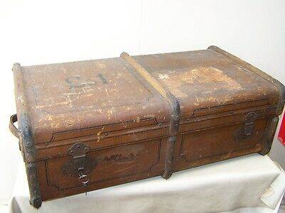 great old Suitcase with Keys, Steamer trunk, Treasure chest Travel cases