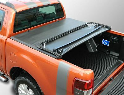Ford Ranger 2016  NLG* Tonneau cover Soft, Double Cab Tri-Folding Load Bed Cover