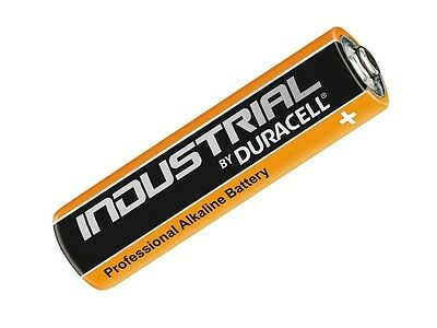 10 x Duracell Industrial AAA LR03 1.5V Alkaline Batteries MN2400 Replaces Procel