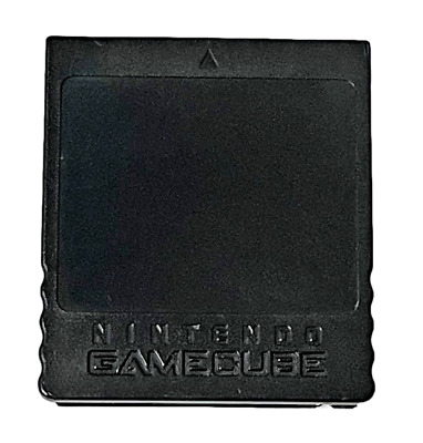 Genuine Memory Card For Nintendo GameCube 251 Blocks Official *Free Post*