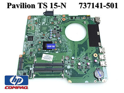 Hp Pavilion 15 15-N Laptop Motherboard Amd E1-2500 Cpu 737141-501 Tested