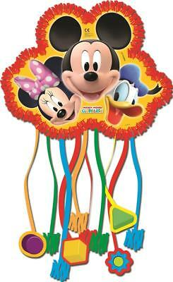 Playful Mickey Mouse Party Pull String Bag Piñata