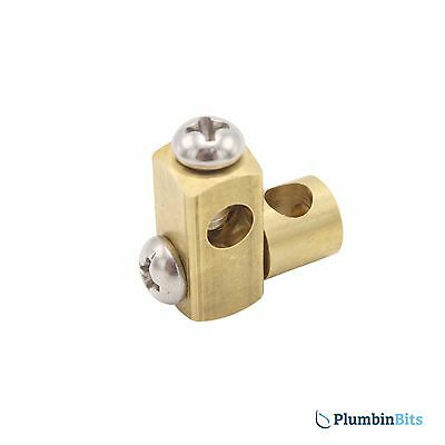 Replacement Basin Pop Up Waste Rod Linkage Connector Spare Universal Link Brass