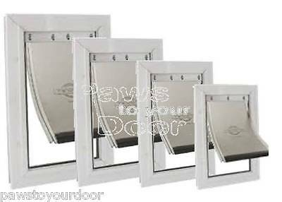 Petsafe Staywell Dog Cat Pet Door Aluminium  4 Sizes 600 620 640 660