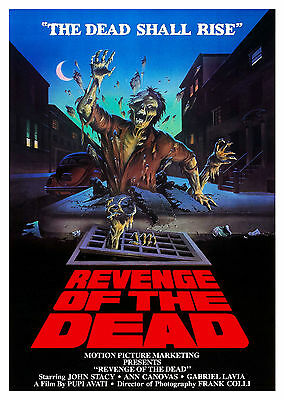 Revenge of the Dead (1983) - A1/A2 POSTER **BUY ANY 2 AND GET 1 FREE OFFER**