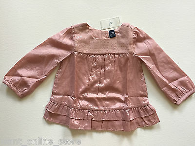BNWT Baby Gap Sequin Top 12 - 18 months