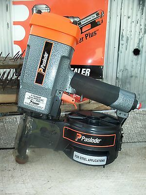 """NEW"" PASLODE 10° Coil Nailer  Wood to Steel Applications 4250/65 CP STL  403237"