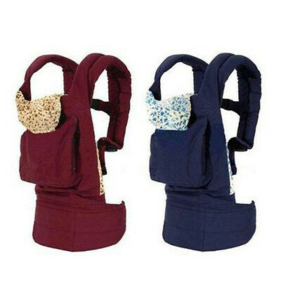 Multifunction Cotton Baby Carrier Infant Comfort Mummy Backpack Sling Wrap Bags