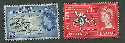 British Solomon Islands #100, 137 Mint Og