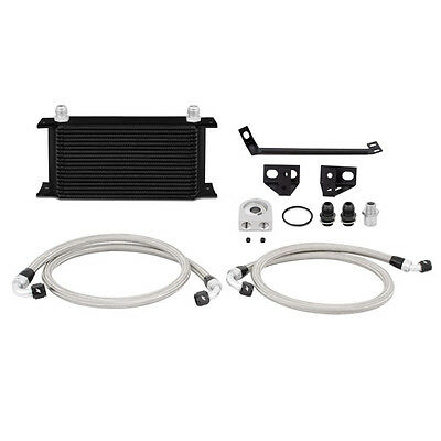 Mishimoto Oil Cooler Kit - Black - Ford Mustang 2.3L EcoBoost 2015-