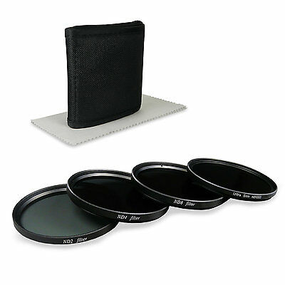 77mm ND Filterset - inkl. Filter Kit ( ND1000 + ND2 + ND4 + ND8 ) + Filteretui