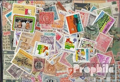 Bolivie 100 différents timbres
